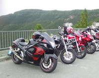 オートバイ龍神護摩山タワー