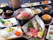 【基本プラン】飛騨牛いろり会席☆お好みの小鍋を3種類よりチョイス♪