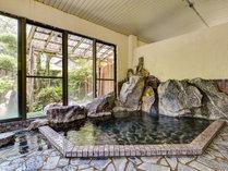 *【大浴場:男湯】PH9.4のお湯はぬめり感が特徴!