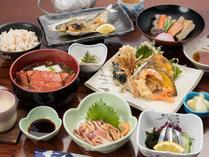 *【夕食一例】薩摩の郷土料理や地元素材をふんだんに使用した品々。