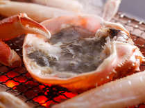 北陸の冬の味覚・蟹。新鮮だからこそのおいしさをお楽しみいただけます。