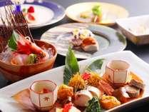 山中温泉屈指の美食宿の基本料理【やそはち十味】