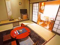 【和室8畳/牡丹】和の趣きの落ち着いた和室8畳のお部屋