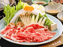 【ご夕食】ふわ~っ☆トロッ♪お口の中でふわっとトロける黒毛和牛しゃぶしゃぶ!