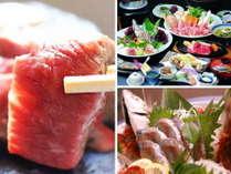 【夕食】旬の味覚を堪能できる本格懐石/写真一例