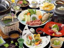 【夕食】リピーター続出!豊後の幸をふんだんに使用したお料理