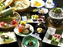 【お食事重視におすすめ】本格逸品会席料理を堪能プラン