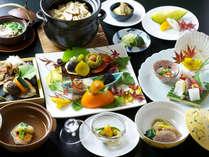 【当館一番人気】季節の特選会席料理を堪能プラン