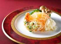 四川「お慶びプラン」よりロブスターと白身魚の蒸し物(写真はイメージです)