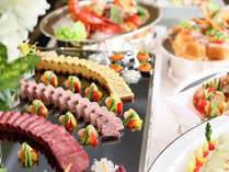 お正月限定のディナーバイキング♪美味しいお料理を、こころゆくまで。