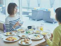 選べる4種の朝食をご用意。