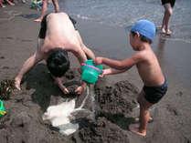 【特典付】夏が来た!海水浴だ☆広がる砂浜で思いっきり遊ぼう♪[1泊2食付]