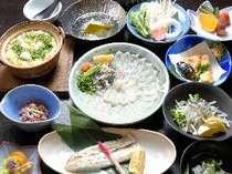 ◆萩のブランド真ふぐ◆『ふぐしゃぶ膳プラン』