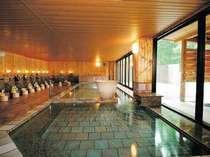 長寿陶芸風呂温泉(女湯)萩焼のお風呂です。露天風呂・サウナもあります。