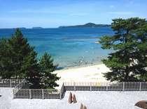 旅館のすぐ後ろには菊ヶ浜☆徒歩0分♪宿泊者様専用の公衆浴場は無料で利用できます♪♪