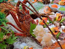 伊勢海老のお造りはプリプリとした歯ごたえ☆(写真はイメージです)