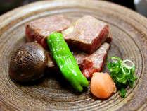 「東伯和牛ステーキ」はとろけるような柔らかさと味わい♪絶品です!
