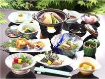 【お部屋夕食】お肉が苦手な方に・・・。ヘルシーな海鮮焼と季節野菜を味わう☆プラン