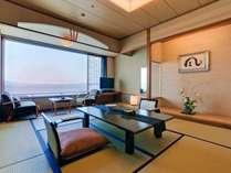 最上階プレミアムフロア客室【仙酔望】 <一例>