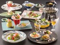 お部屋食の特々選料理イメージ2017【春】