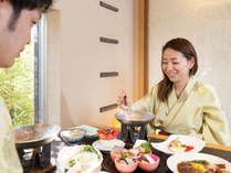 海浬ならではの『半個室』といったプライベート感あふれるお食事時間をお楽しみ下さい♪