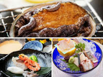 海沿いの宿だからこそ『海の幸』にはこだわり尽くす。『厳選した海鮮料理』を心ゆくまで。
