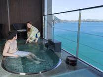 """【屋上展望貸切風呂】大切な人と""""ふたりっきり""""で『鞆の浦温泉』の湯の贅を堪能。"""