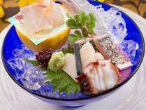 【お刺身盛りイメージ】その日、その時期に新鮮で旨みが引き立つ鮮魚を料理長が厳選!