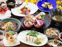 【特々選会席】鞆の浦の名産『鯛』や、瀬戸内の鮮魚を用いた内容※一例
