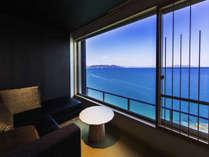 【最上階◇プレミアムコーナーツイン】瀬戸内海の風景に、ただただ身を馳せる。1ランク上の至福のひととき