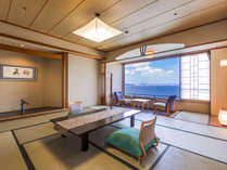 【5階以上和室】客室からの眺めとロケーションを重視したい方にオススメ。想い出に残る風景をあなたに。