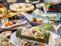 【2019年夏料理-半個室食海浬】特々撰会席料理イメージ