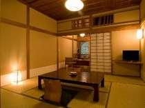 客室(一例)『36号室』 和室+次の間+ベランダ+トイレ+洗面所所付き