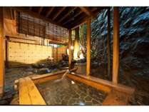 1階露天風呂付特別室『もみじ』和室2間+檜の掛け流し温泉露天風呂+トイレ+洗面所付き