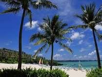 ホテルから徒歩5分♪白い砂浜が広がるムーンビーチ♪