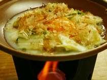 朝食の一例 漬物ステーキ陶板焼き(イメージ)
