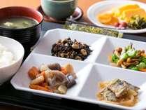 軽朝食無料バイキング(和)ご飯が美味しくなりました!島根県産「つや姫」