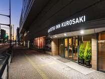 黒崎駅から徒歩2分 ホテル入り口