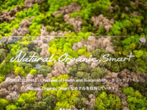 Natural Organic Smart ロハスなホテルです!