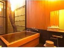 客室の内風呂