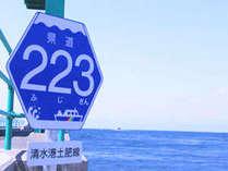 県道223号線 標識