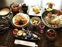 【夕食】季節の懐石料理(一例・別注含む)