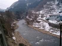 当館からの眺め 雪景色2
