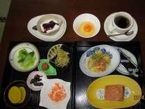 朝食付きプラン(お料理は季節によって変わります。コーヒー付きです。)