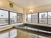 *【男性専用風呂】最上階からの景色を楽しみながらリフレッシュして頂けます♪