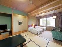 【東館客室】東館には、ベッド付の和洋室もございます