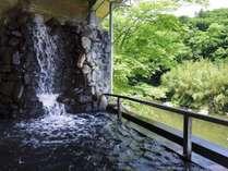 ★名取川を目前に 川沿い露天風呂