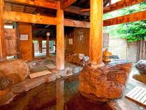 天然温泉貸切制露天風呂