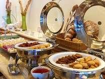 ビュッフェレストラン「マーセン」ディナー一例