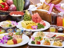 ビュッフェレストラン「マーセン」朝食